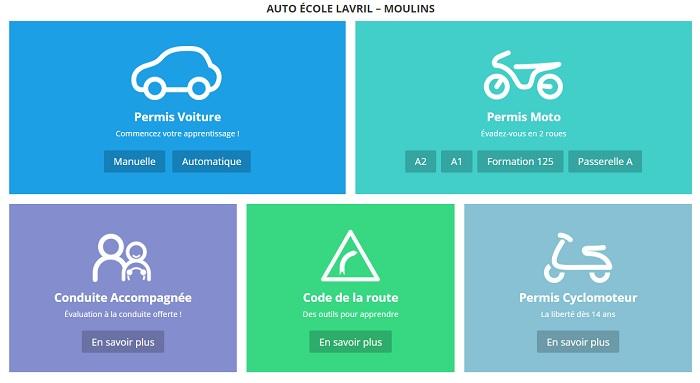 centre d'examen pratique permis conduire Moulins