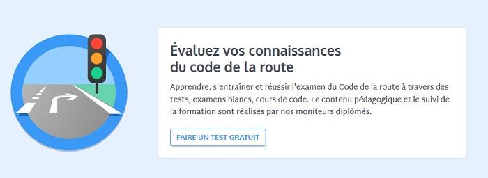 évaluation au code de la route 2019